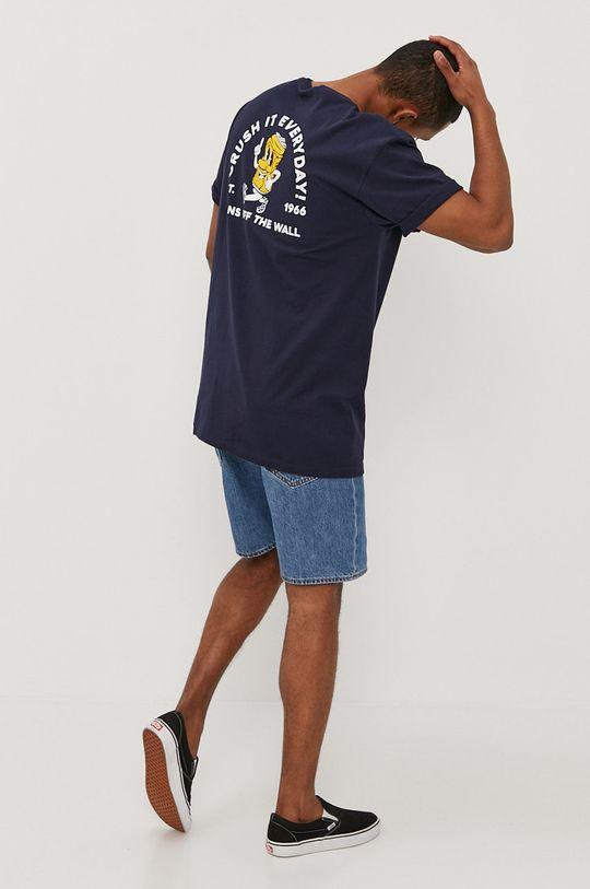 granatowy Vans - T-shirt Męski