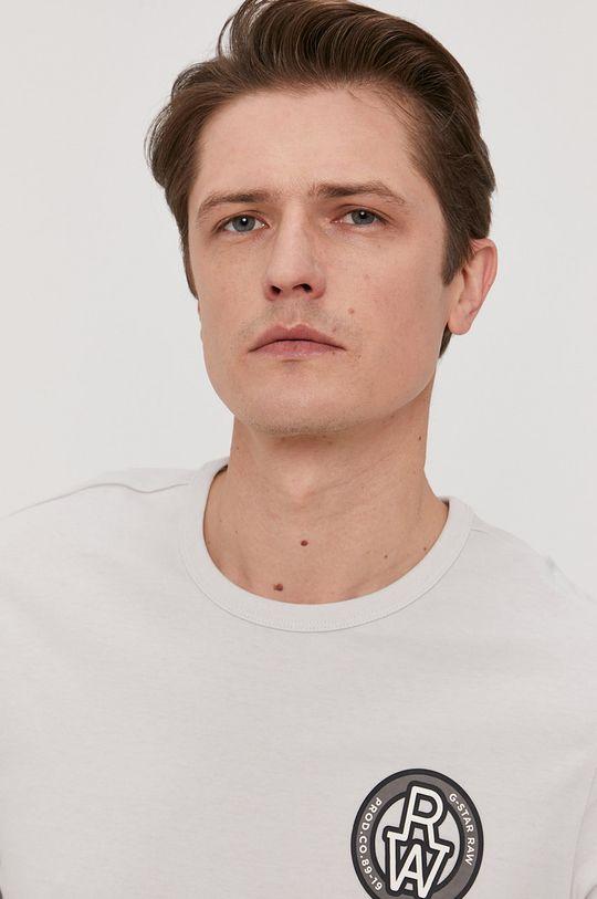 jasny szary G-Star Raw - T-shirt