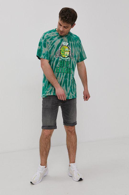 HUF - T-shirt 100 % Bawełna