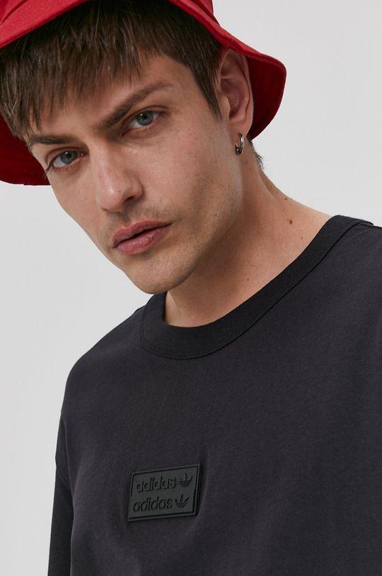 negru adidas Originals - Tricou
