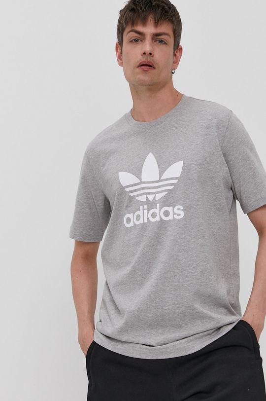 sivá adidas Originals - Tričko Pánsky