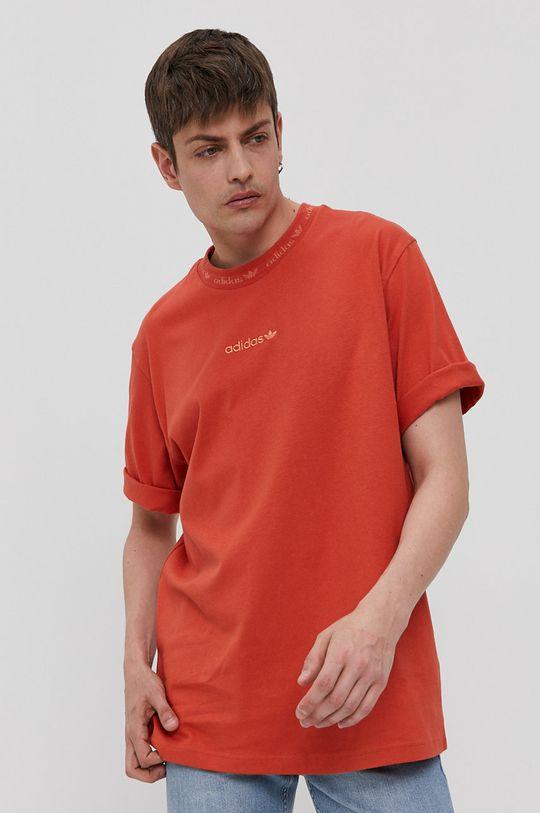 mandarin adidas Originals - Tricou De bărbați