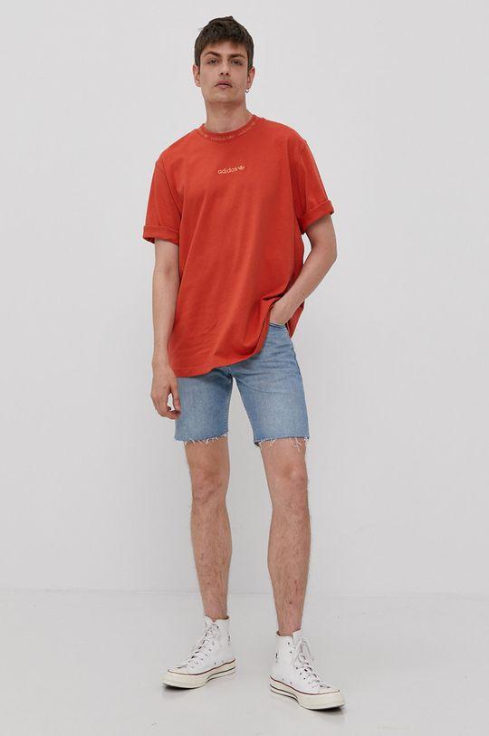 adidas Originals - Tricou mandarin