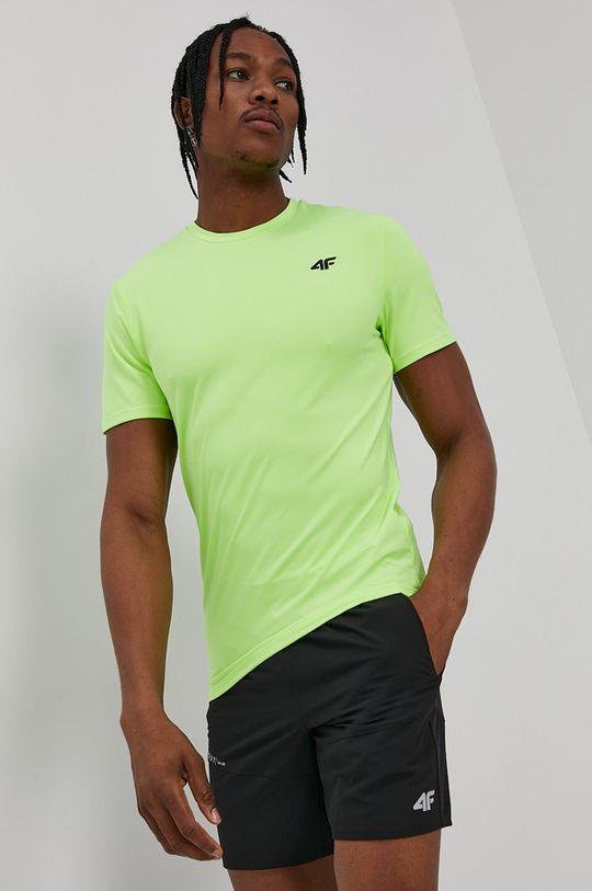 žlto-zelená 4F - Tričko Pánsky