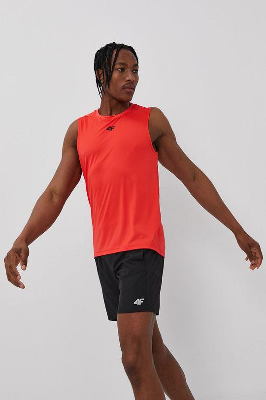 ostry czerwony 4F - T-shirt Męski