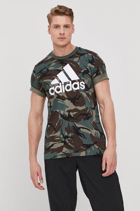viacfarebná adidas - Tričko Pánsky