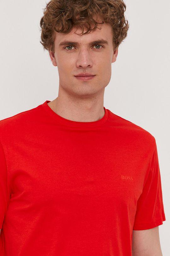 czerwony Boss - T-shirt BOSS CASUAL