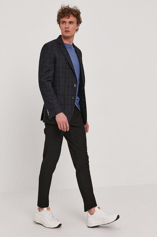 Boss - Tricou BOSS CASUAL albastru
