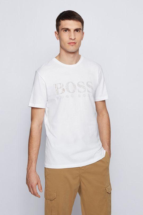 biela Boss - Tričko Boss Casual Pánsky