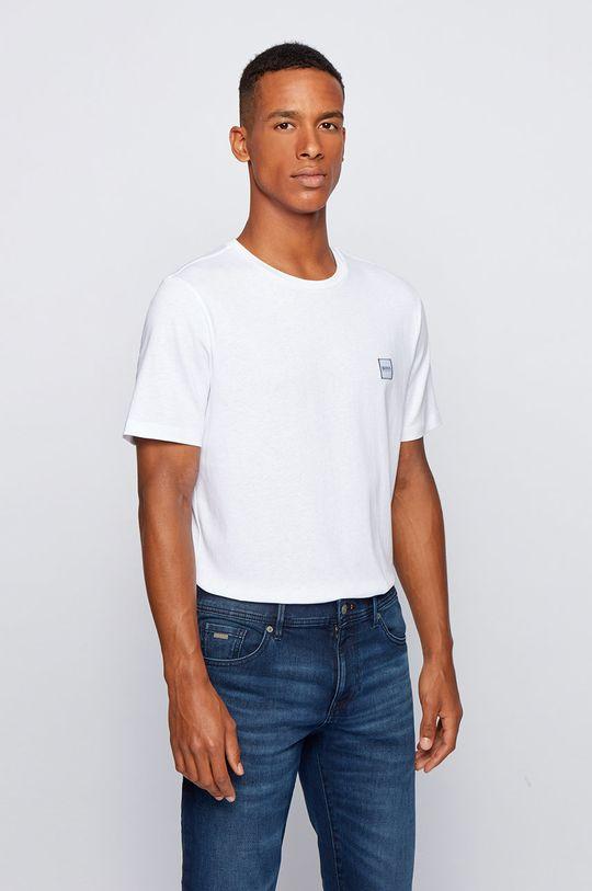 biały Boss - T-shirt Boss Casual Męski