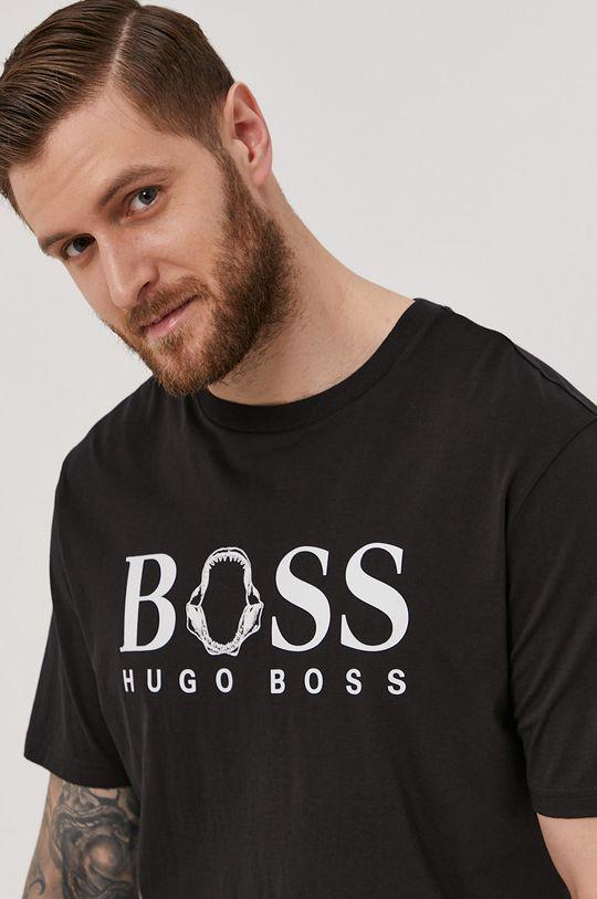 čierna Boss - Tričko Boss Casual