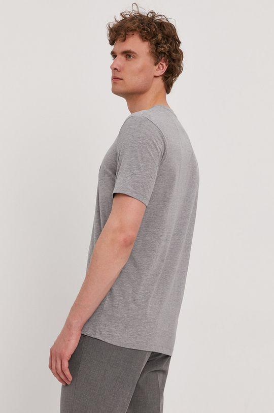 Boss - T-shirt 65 % Bawełna, 35 % Poliester z recyklingu