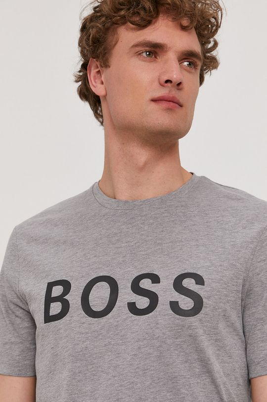 szary Boss - T-shirt