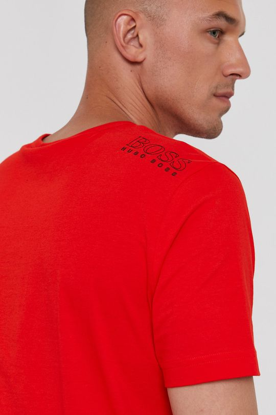 ostry czerwony Boss - T-shirt Boss Athleisure Męski