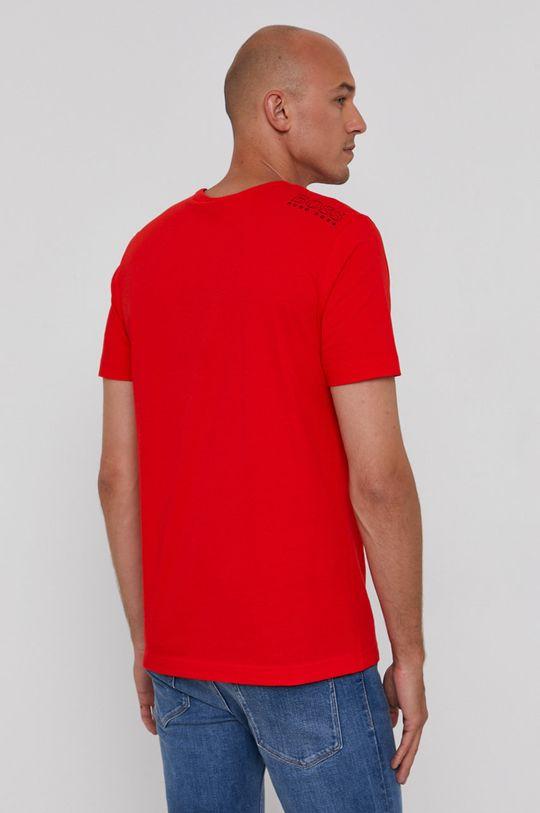 ostry czerwony Boss - T-shirt Boss Athleisure