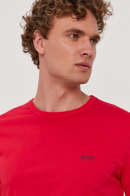 czerwony Boss - T-shirt Boss Athleisure