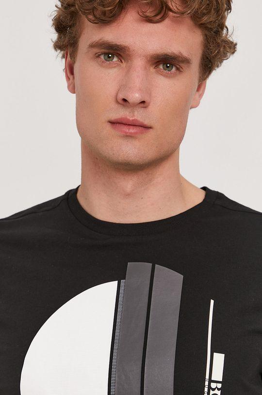 czarny Boss - T-shirt Boss Athleisure