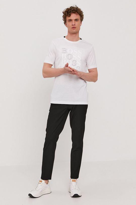 Boss - Tričko Boss Athleisure biela
