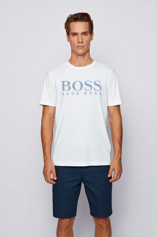 alb Boss - Tricou Boss Athleisure De bărbați