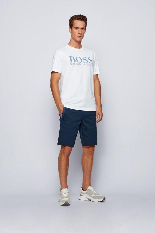 Boss - Tricou Boss Athleisure alb