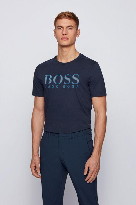 námořnická modř Boss - Tričko Boss Athleisure Pánský