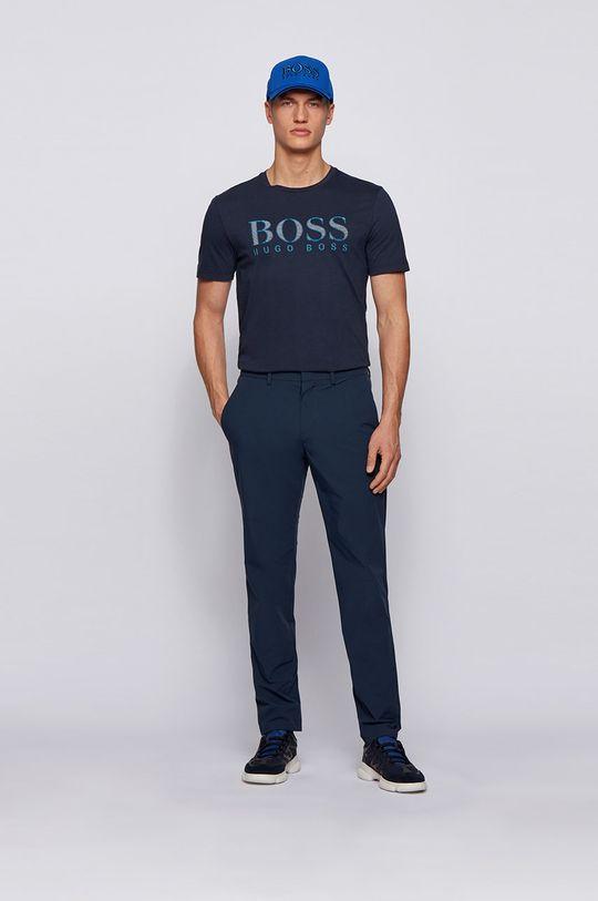 Boss - Tričko Boss Athleisure námořnická modř