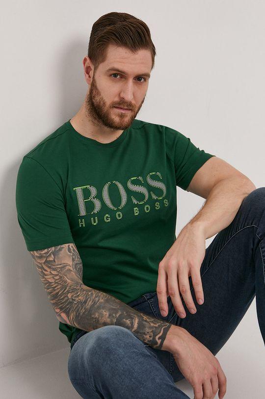 zielony Boss - T-shirt Boss Athleisure Męski