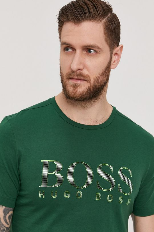 zielony Boss - T-shirt Boss Athleisure