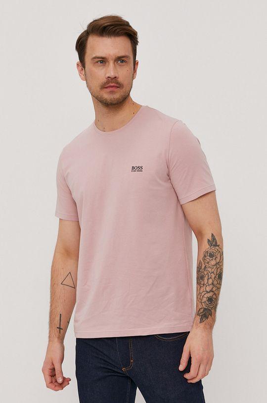 roz pastelat Boss - Tricou De bărbați