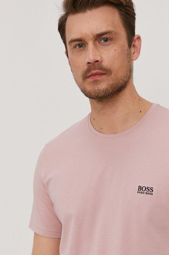 roz pastelat Boss - Tricou