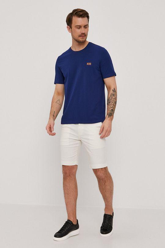 Boss - T-shirt niebieski