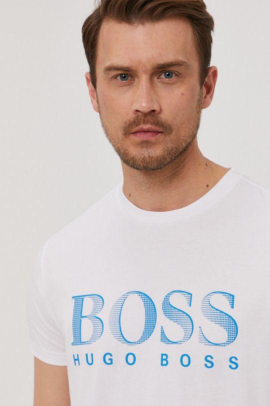 bílá Boss - Tričko Pánský