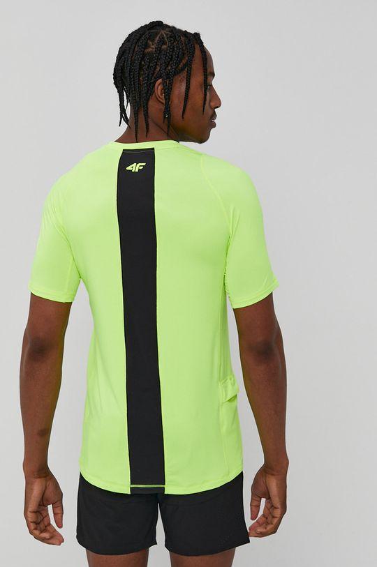 4F - Tricou galben – verde
