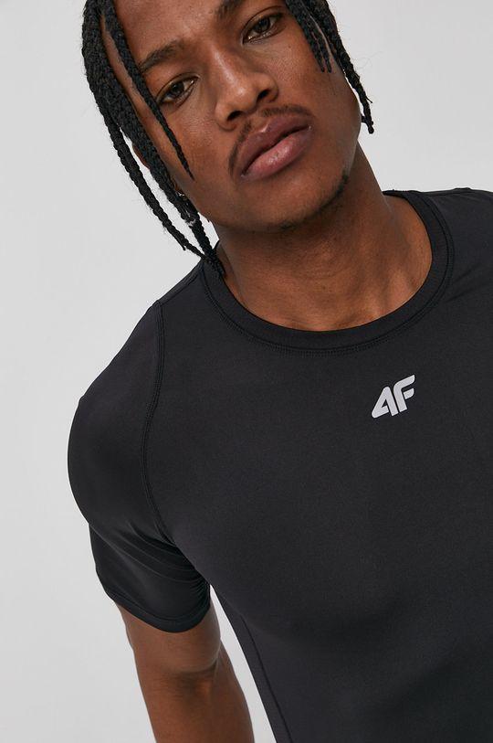 negru 4F - Tricou
