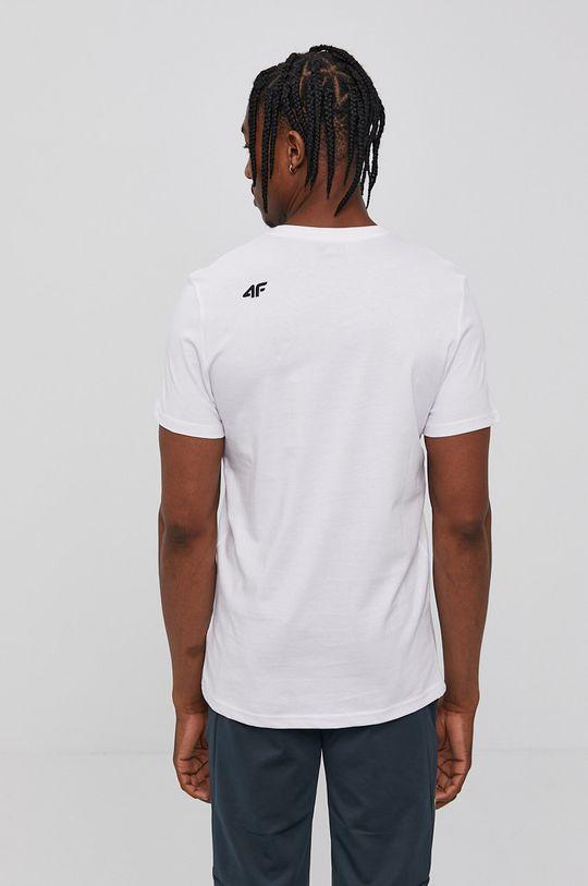 4F - Tricou alb