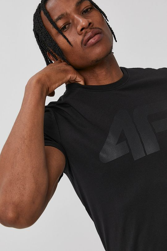 negru 4F - Tricou De bărbați