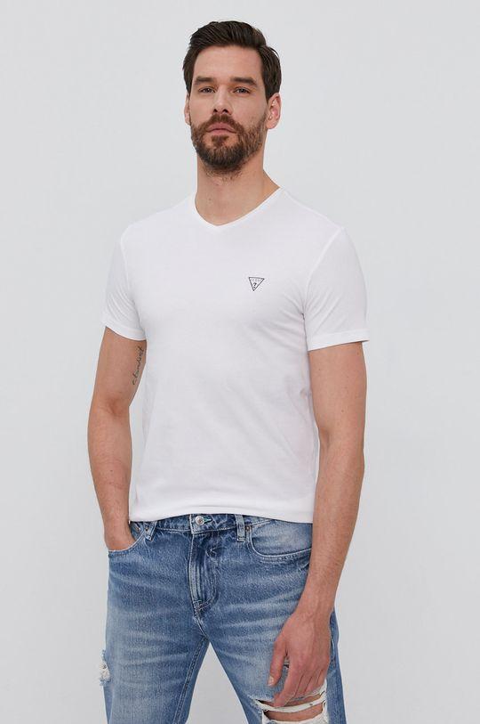 bílá Guess - Tričko (2-pack) Pánský