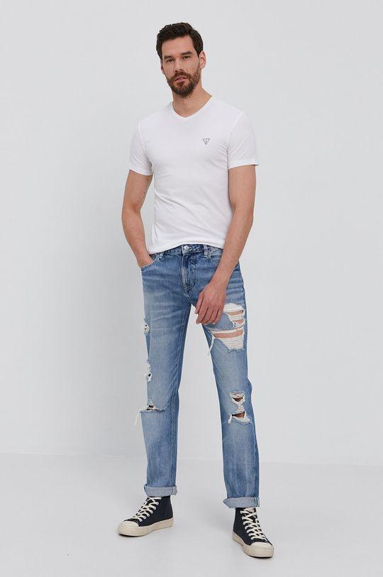 Guess - Tričko (2-pack) bílá