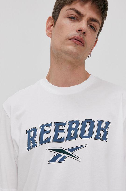 biały Reebok Classic - T-shirt