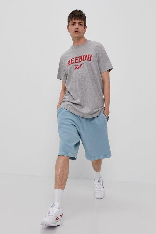 Reebok Classic - T-shirt szary