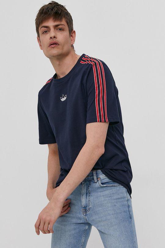 tmavomodrá adidas Originals - Tričko Pánsky