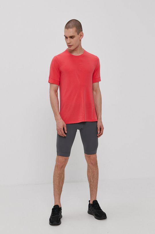 Nike - T-shirt czerwony róż