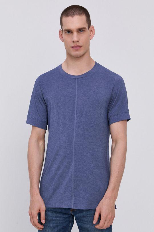 granatowy Nike - T-shirt Męski