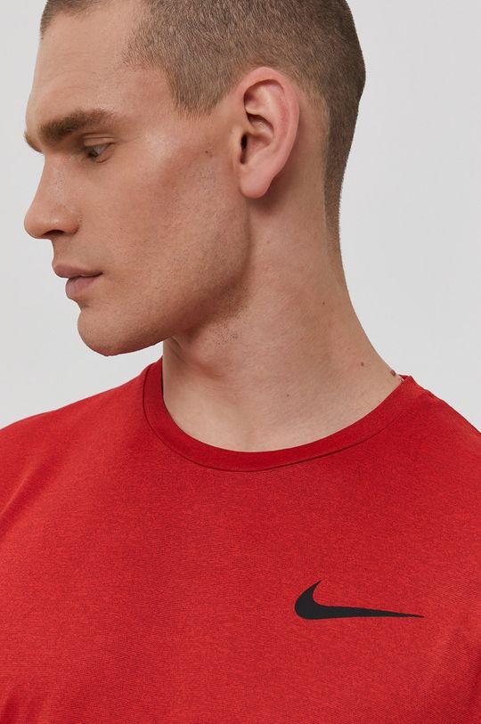 ostry czerwony Nike - T-shirt