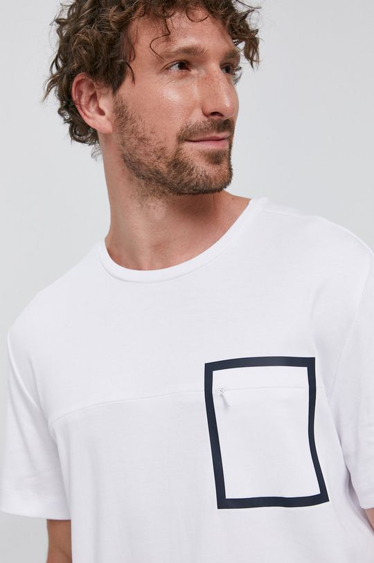 bílá Selected - Tričko