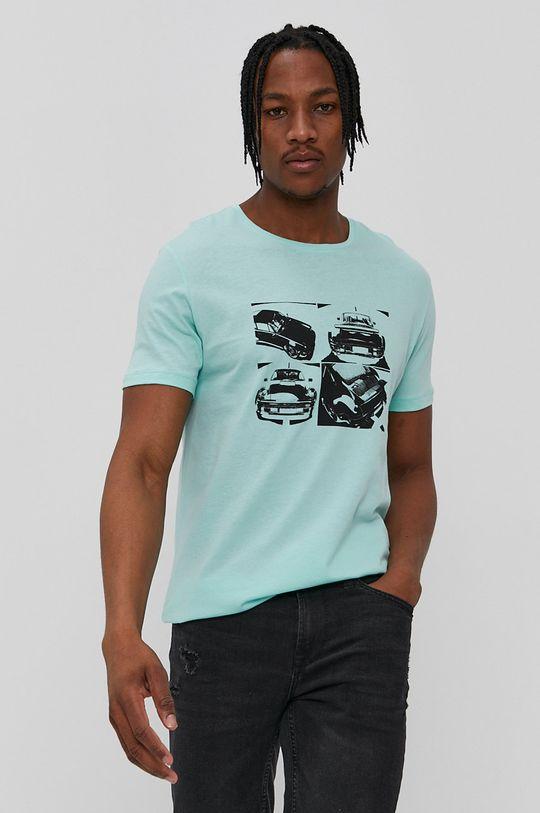 John Frank - T-shirt zielony