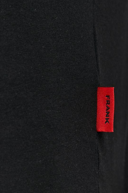 čierna John Frank - Tričko