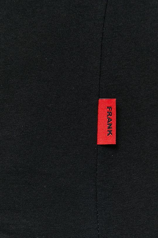 negru John Frank - Tricou