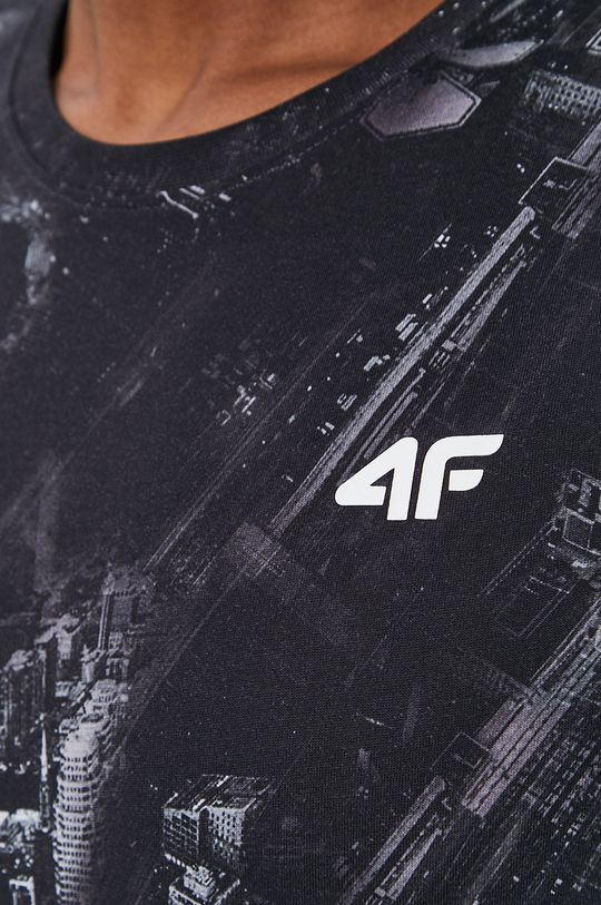 čierna 4F - Tričko