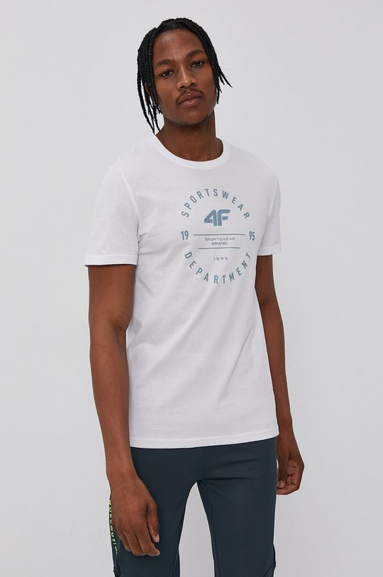 biela 4F - Tričko Pánsky
